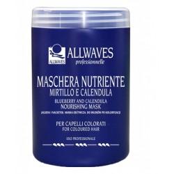 Allwaves nourishing mask - vyživující maska na barvené vlasy 1000g