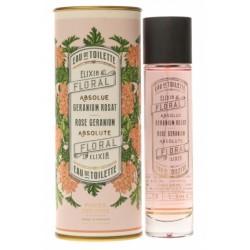 Panier des Sens Rose geranium hand cream - krém na ruce s vůní muškátu 75ml