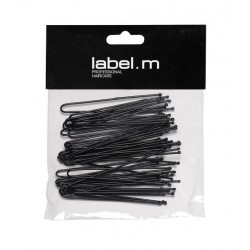 Label.m U-Pin Straight Black 50mm - 40ks