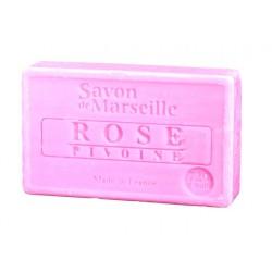 Le Chatelard mýdlo Růže pivoňka (rose pivoine) 100g