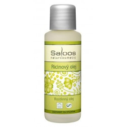 Saloos bio ricinový olej lisovaný za studena 50ml