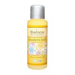 Saloos bio tělový a masážní olej Devatero kvítí 50ml