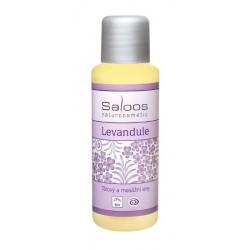 Saloos bio tělový a masážní olej Levandule 50ml