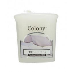 Colony votivní svíčka Fresh linen 50g