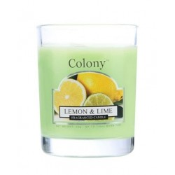 Colony votivní svíčka ve skle Citron a limetka 50g