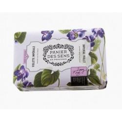 Panier des Sens mýdlo Vznešená fialka a bambucké máslo 200g