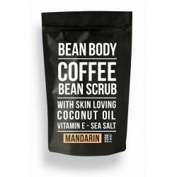 Bean Body Coffee scrub tělový peeling Mandarinka 220g