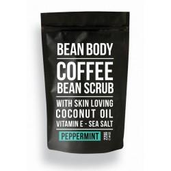 Bean Body Coffee scrub tělový peeling Peppermint 220g