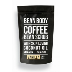 Bean Body Coffee scrub tělový peeling Vanilla 220g