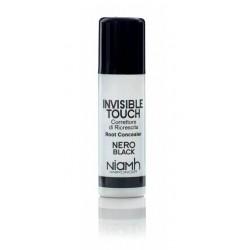 Invisible Touch Root Concealer Black korektor odrostů černý 75ml
