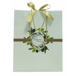 Jeanne en Provence dárková taška Oliva 24x31cm