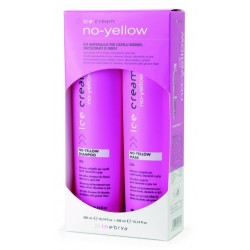 Inebrya No-yellow Kit - šampon a maska 300ml