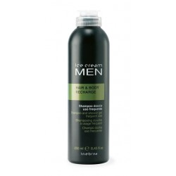 Inebrya MEN Hair & Body Recharge šampon a sprchový gel v jednom 250ml