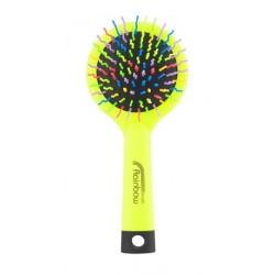 Rainbow brush kartáč na vlasy se zrcátkem medium žlutý