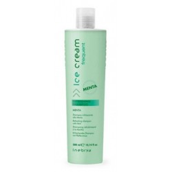 Inebrya Refreshing shampoo 300ml vyživující šampon s mátou