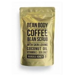Bean Body Coffee scrub tělový peeling Manukový med 220g