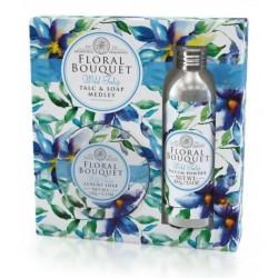Somerset Toiletry dárková sada Tulipány luxusní mýdlo 150g + parfémovaný pudr 100g
