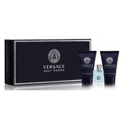 Versace Pour Homme Set - EDT 5ml + sprch.gel 25ml + balm po holení 25ml