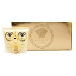 Versace Eros Pour Femme Set - EDT 5ml + sprch.gel 25ml + body lotion 25ml