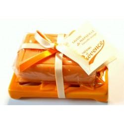 Clara mýdlenka s mýdlem Orange 100g