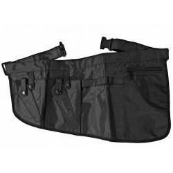 Kadeřnická kapsa černá na kadeřnické pomůcky