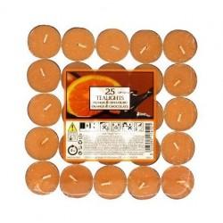 Price´s čajové svíčky 25ks Pomeranč a čokoláda