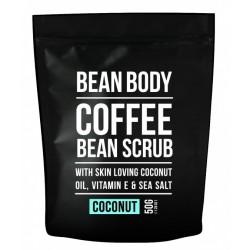 Bean Body Coffee scrub tělový peeling Coconut 50g