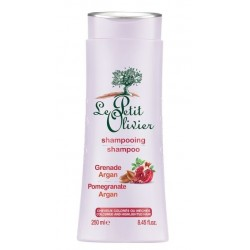 Le Petit Olivieršampon na vlasy 250ml argan, granátové jablko na barvené a melírované vlasy