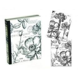 Michel Design Works sada přáníček s květinovým motivem