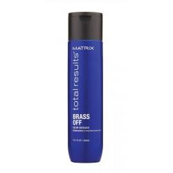 Matrix Total Results Brass Off shampoo 300ml neutralizuje teplé tóny barvených vlasů