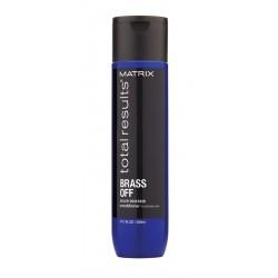 Matrix Total Results Brass Off kondicioner 300ml neutralizuje teplé tóny barvených vlasů