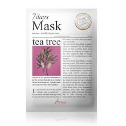 Ariul 7days mask Tea tree 20g čistící maska na obličej Tea tree