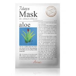 Ariul 7days mask Aloe 20g zklidňující maska na obličej Aloe