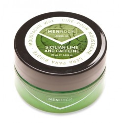Menrock Awakening Lime-Caffeine Moustache Wax 25ml balzám na vousy