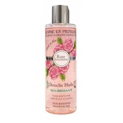 Jeanne en Provence Růže výživný sprchový olej 250ml