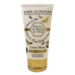 Jeanne en Provence Bambucké máslo a med výživný krém na ruce 75ml