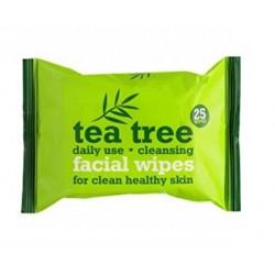 Xpel Tea Tree Daily use 25ks čistící obličejové ubrousky
